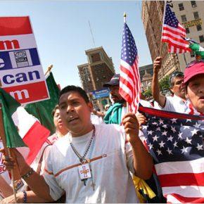Hiszpańskojęzyczni mieszkańcy USA nie chcą imigrantów