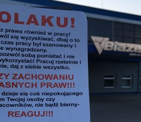Autonomiczni Nacjonaliści kontynuują akcję przeciwko wyzyskowi w Białymstoku