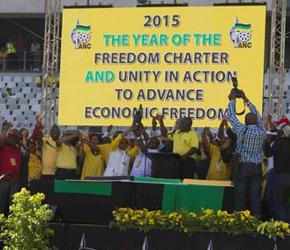 Afrykański Kongres Narodowy świętuje rocznicę i piętnuje dziedzictwo białej mniejszości