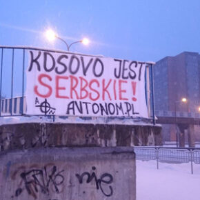 AN Lubelszczyzna: Kosowo jest serbskie!