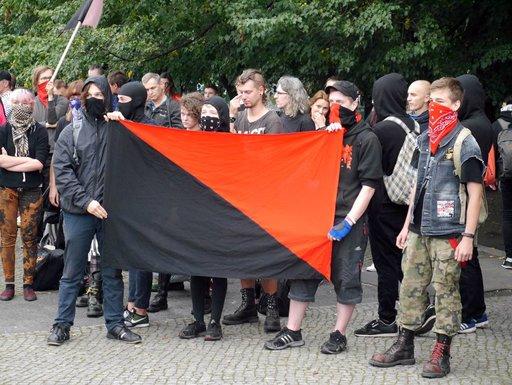 Antifa nie zaatakuje policji