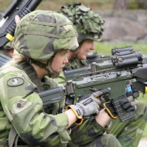 Kobiety nie chcą do szwedzkiej armii