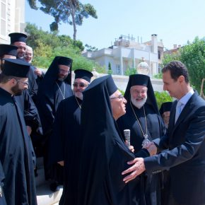 Syryjski prezydent spotkał się z katolickimi hierarchami