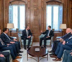Syryjski prezydent przyjął polską delegację