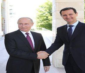 Prezydenci Rosji i Syrii spotkali się w Soczi