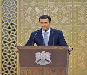 Syryjski prezydent krytykuje zachód i zapowiada odbudowę kraju