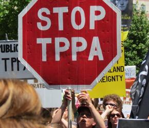 Nowa Zelandia: Protesty przeciwko umowie handlowej