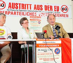 Austria: Kampania na rzecz wyjścia z UE