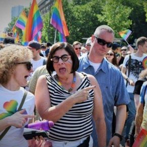 """""""Nasi sojusznicy"""" na Paradzie Równości"""