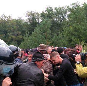 W Baszkirii pracownicy walczyli z ekologami (+WIDEO)