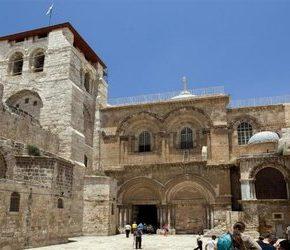 Grób Pański zamknięty z powodu żydowskich roszczeń