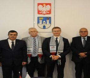 Burmistrz Betlejem odwiedził Częstochowę