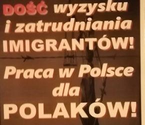 Białystok: Nacjonaliści za pracą dla Polaków