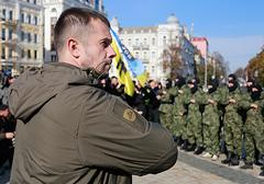 """Ukraina: Dowódca pułku """"Azow"""" ma duże szanse na zostanie posłem"""