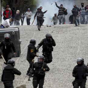 Zwolennicy Moralesa sprzeciwiają się puczowi