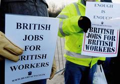 Wielka Brytania: Przybywa zarobkowych imigrantów