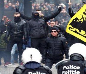 W Brukseli protestowano przeciwko paktowi z Marrakeszu