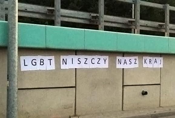 """Białystok: Nacjonaliści przypomnieli o tle """"Pride Month"""""""