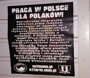 Białystok: Akcja informacyjna przeciwko imigracji
