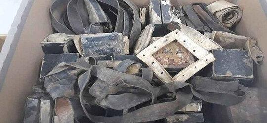 Izraelczycy nielegalnie wywieźli artefakty z getta