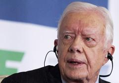 """Były prezydent USA, Jimmy Carter: """"Ameryka nie ma funkcjonującej demokracji"""""""