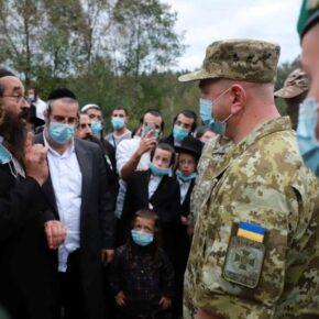 Ukraina blokuje wjazd chasydów