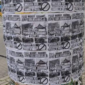 Chełm: Pamiętamy żydowskie i komunistyczne zbrodnie!