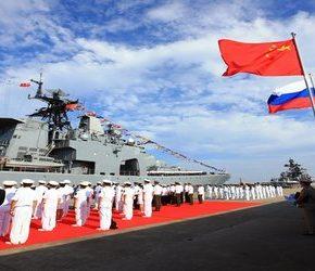 Chiny i Rosja ćwiczyły na morzu