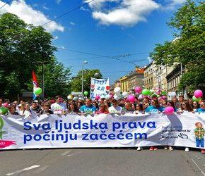 """""""Marsze dla Życia"""" przeszły przez Chorwację"""