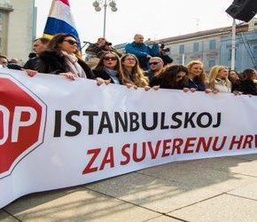 Chorwaci przeciwko Konwencji Stambulskiej