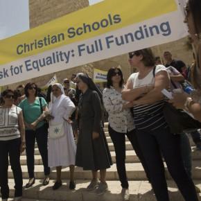 Izrael: Chrześcijanie demonstrowali przeciwko dyskryminacji w szkolnictwie