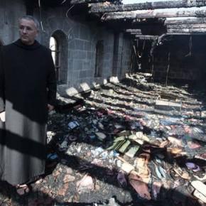 Izraelscy ekstremiści podłożyli ogień pod Kościół nad Jeziorem Galilejskim