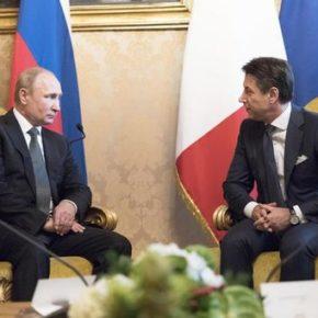 Rosja przekaże pomoc dla Włoch