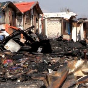 Nielegalne cygańskie osiedle zanieczyszcza wodę