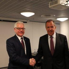 Czaputowicz widzi konieczność poprawy relacji z Rosją