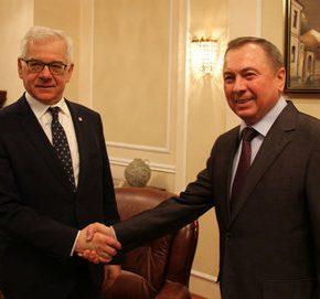 Szef MSZ odwiedził Białoruś