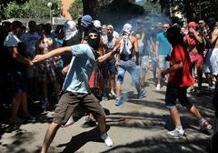 Czarnogóra: Akcje bezpośrednie przeciw pierwszej paradzie homoseksualistów
