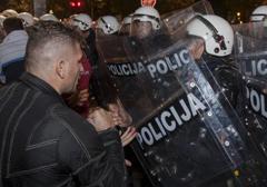 Czarnogóra: Policja oskarżana o nadmierną przemoc wobec demonstrantów