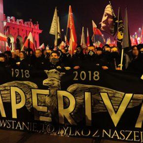 Wideo: Czarny Blok na Marszu Niepodległości 2018