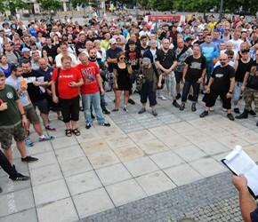 Czechy: Demonstracja przeciwko imigracji