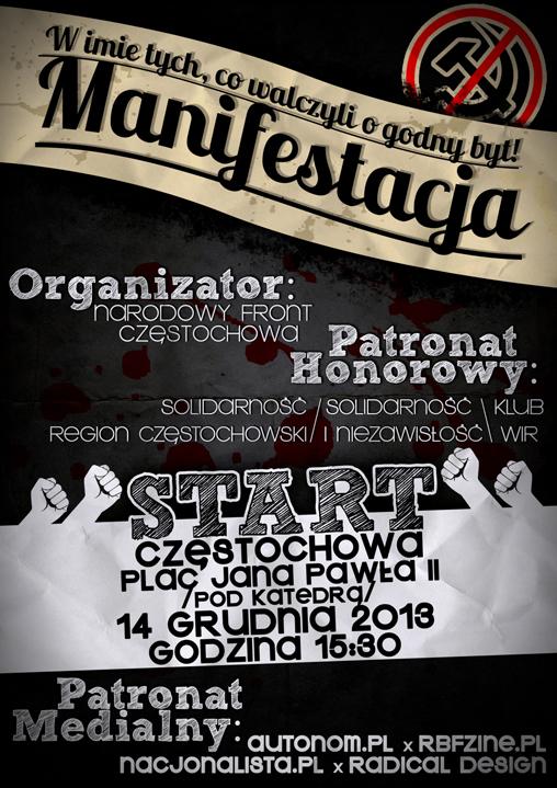 czestochowa-14-grudnia-plakat