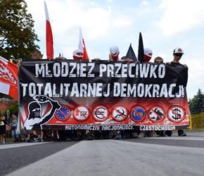 Częstochowa: Młodzież przeciwko totalitarnej demokracji