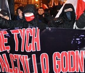 """Częstochowa: Manifestacja """"W imię tych, co walczyli o godny byt"""""""
