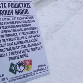 Białystok: Nacjonaliści w obronie środowiska
