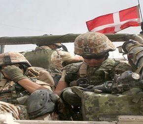 Duńskie wojsko pomaga kontrolować granice
