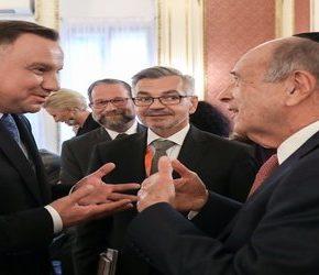 Duda z gratulacjami od Światowego Kongresu Żydów