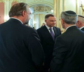 Duda rozmawiał z żydowskimi lobbystami