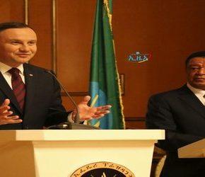 Prezydent chce rozwijać kontakty handlowe z Etiopią