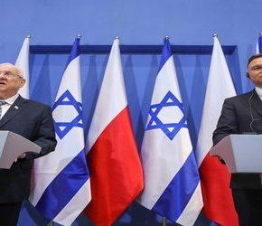 Prezydent Izraela mówi o Polakach pomagających Niemcom