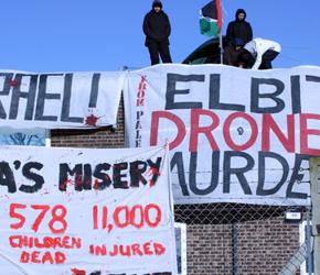 UK: Protest pod firmą zaopatrującą izraelską armię